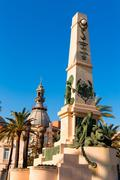 Cartagena murcia cavite heroes memorial spain Stock Photos