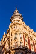 cartagena gran hotel art noveau murcia spain - stock photo