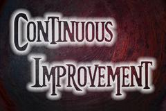 Continuous improvement concept Stock Illustration