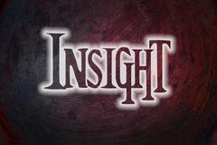 Insight concept Stock Illustration