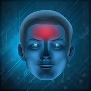 Headache concept Stock Illustration