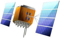 Artificial Satellite - stock illustration
