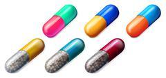 Medicinal Pills - stock illustration