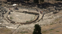 Athens Greece Dionysus Eleuthereus Theater 4K 033 Stock Footage