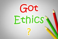 code of ethics - stock illustration