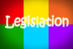 legislation concept - stock illustration
