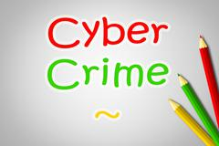 cyber crime concept - stock illustration