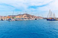 Cartagena murcia port marina in spain Stock Photos