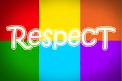 respect concept - stock illustration