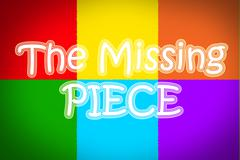 The missing piece concept Stock Illustration