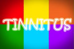 tinnitus concept - stock illustration