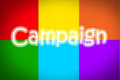 marketing campaign - stock illustration