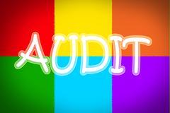 audit concept - stock illustration