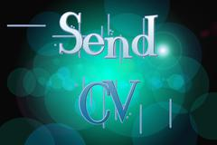 send cv concept - stock illustration