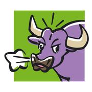 Stock Illustration of Taurus astrological sign, illustration