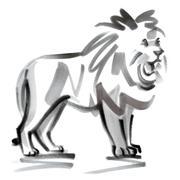 Leo astrological sign, illustration Stock Illustration