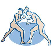 Gemini astrological sign, illustration Stock Illustration