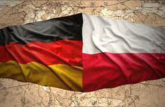 Stock Illustration of germany and poland
