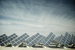 solar energy - stock photo