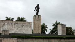 Cuba. Santa Clara. Monument Che Guevara Stock Footage