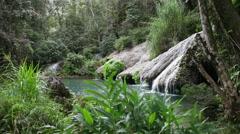 Soroa waterfall, Pinar del Rio, Cuba. Stock Footage