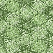 mayan ornaments seamless hires generated texture - stock illustration