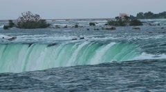 Horseshoe Falls at the Canadian Side Stock Footage