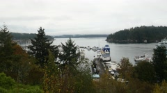 Friday harbor, san juan island, san juan islands, puget sound, washington, st Stock Footage