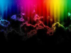 Stock Illustration of lightning strike spectrum