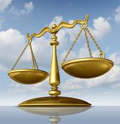 Justice scale Stock Illustration