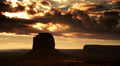 Monument Valley Sunrise 16 Timelapse Clouds USA Footage