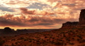 Monument Valley Sunrise 17 Timelapse Clouds USA Footage