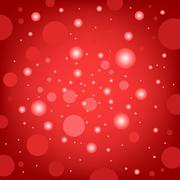 Stock Illustration of circular effects red background