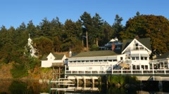 Roche harbor, san juan island, san juan islands, puget sound, washington, sta Stock Footage