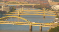 4K Pittsburgh Allegheny River Bridges 8 Footage