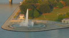 Pittsburgh Point State Park 1 Stock Footage
