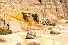 Stock Photo of eroded cliffs in the badlands