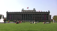 Altes Museum in Berlin Stock Footage