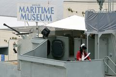 queensland maritime museum in brisbane - stock photo
