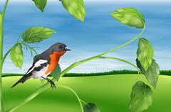 Stock Illustration of Bird