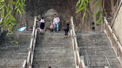 Longmen Grottoes Stock Footage
