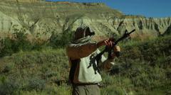 Terrorist terrorism isis training Stock Footage