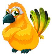 Stock Illustration of An angry bird