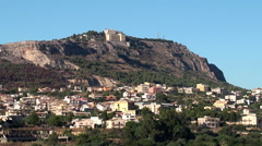 Types of Sciacca town. Sicily, Italy. Stock Footage