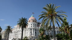 FRENCH RIVIERA HOTEL Stock Footage