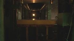 Metal pressing factory. Stock Footage