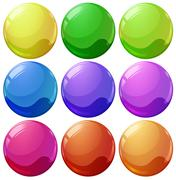 Colorful balls Stock Illustration