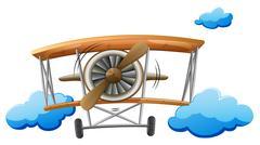 A vintage propeller Stock Illustration