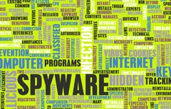 spyware - stock illustration