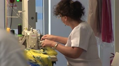 Stock Video Footage of tailoring services